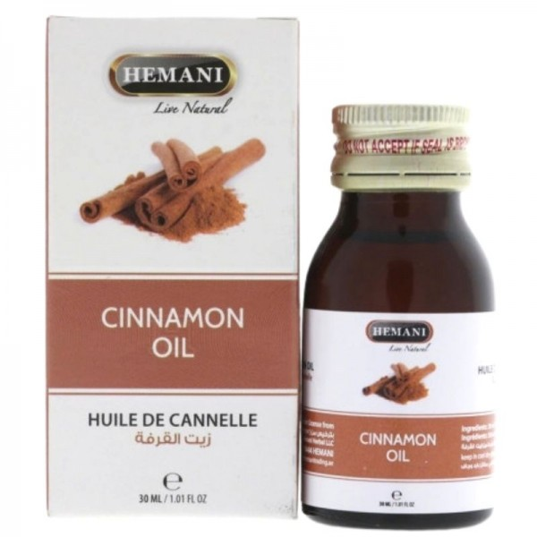 Cinnamon oil for anti-cellulite and slimming action - Hemani
