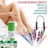 Small Permanent Hair Removal Pack with Accessories