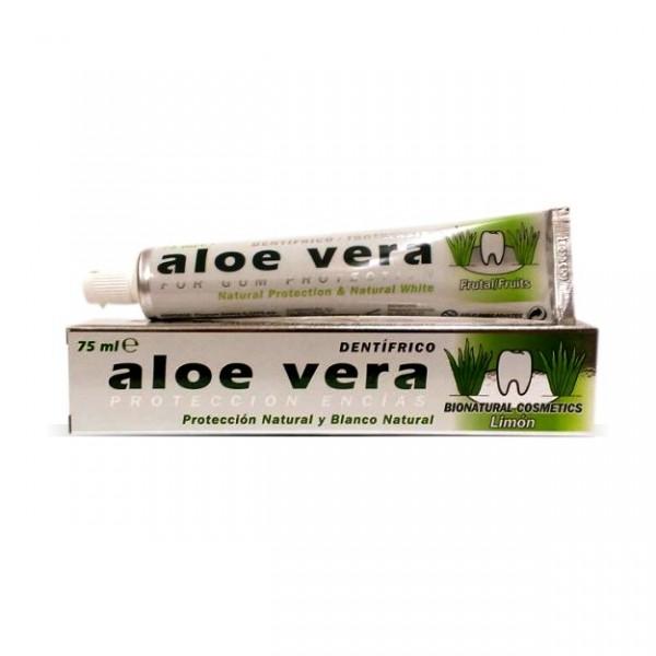 Dentifrice l'Aloe Vera et citron pour une higiène buccale parfaite