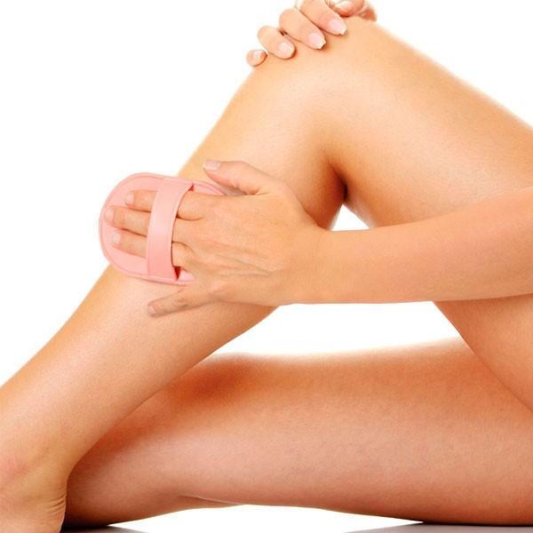Gants rasage sans douleur pour les jambes
