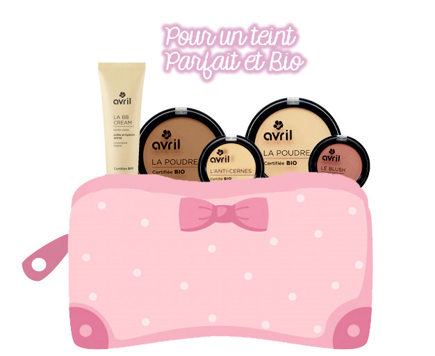 Trousse de maquillage bio
